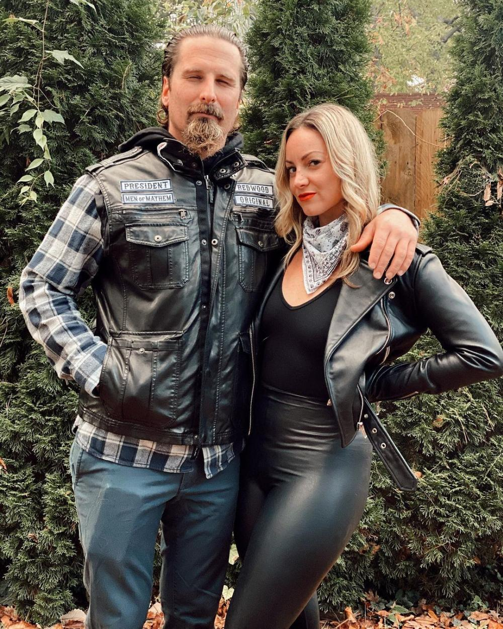 Easy couple halloween costumes sons of anarchy