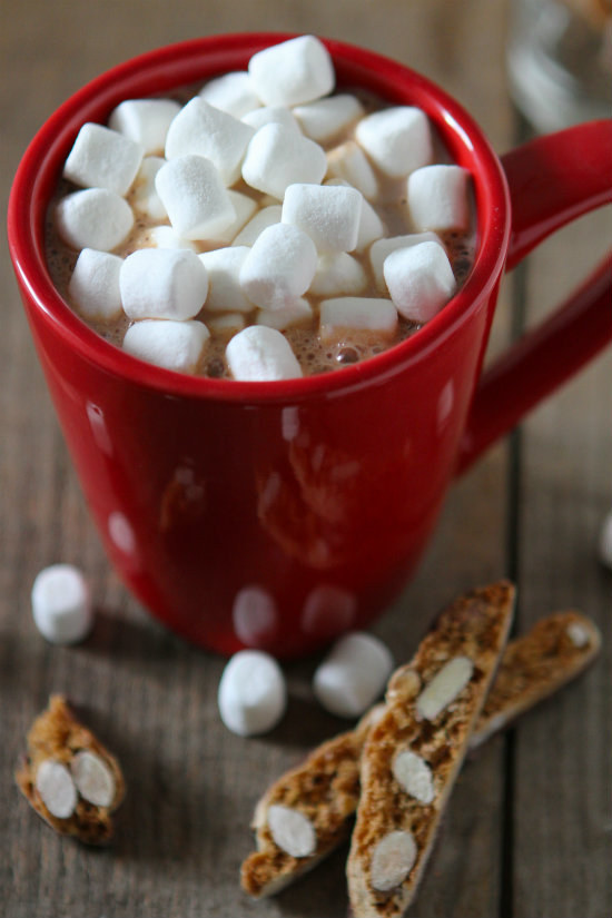 Eggnog mexican hot chocolate