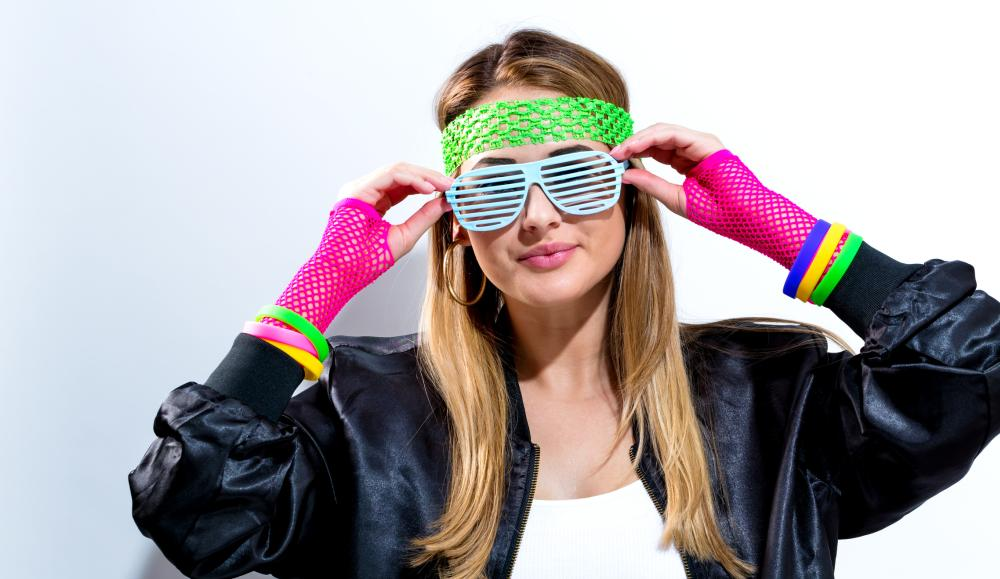 Fashion icon 80s costume
