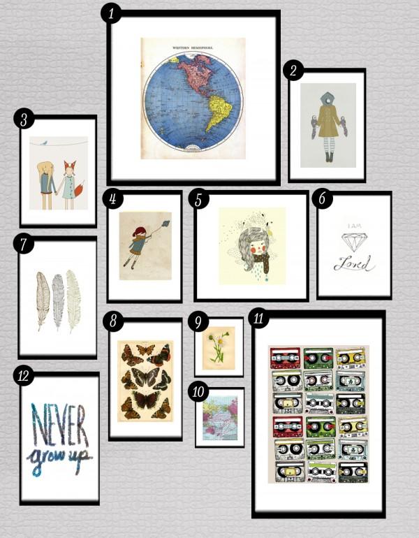 Free printables wall art