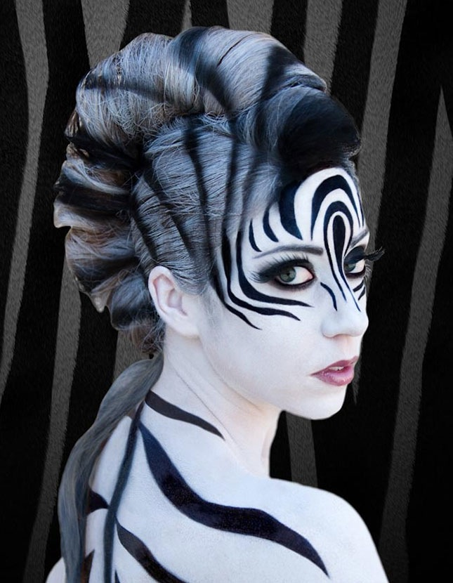 Full zebra makeover