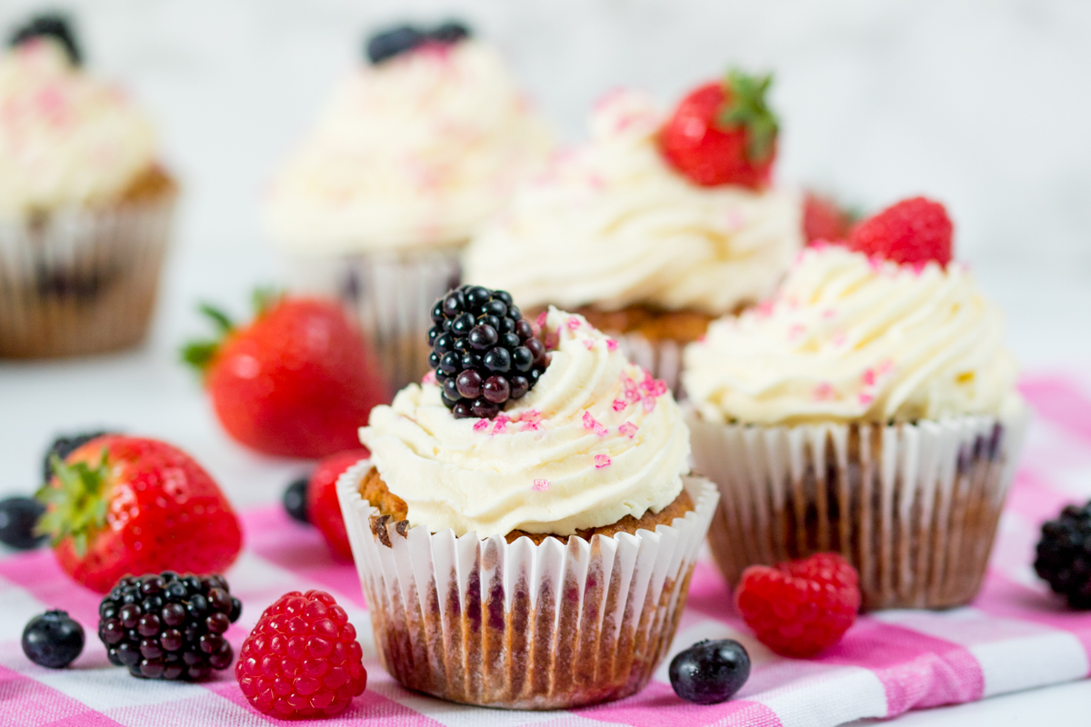 Gluten free berry cupcakes wide 3