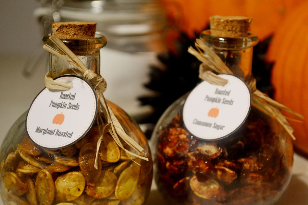 Halloween treat bag ideas pumpkin seed recipes