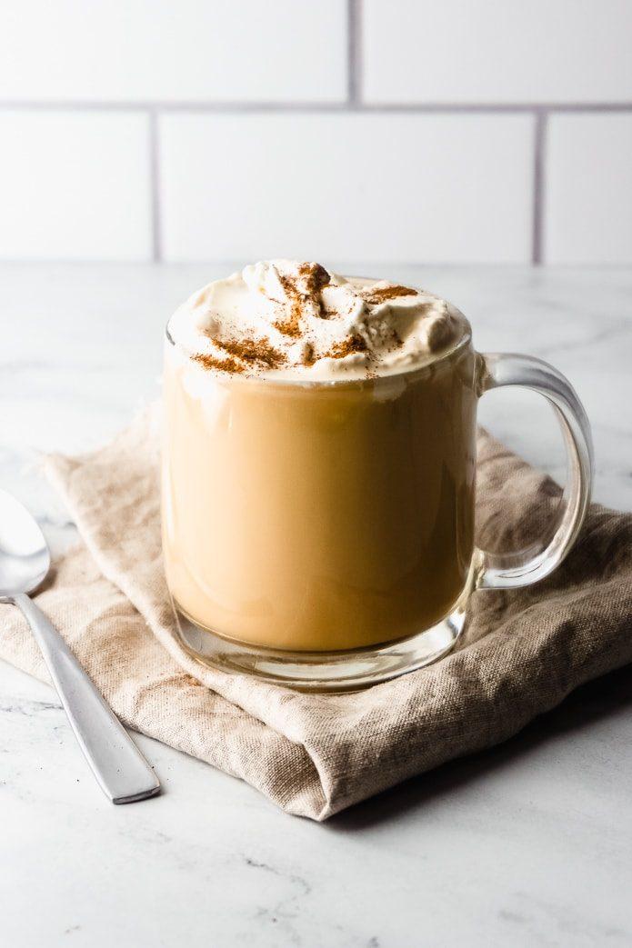 Healthy halloween treats keto pumpkin spice latte