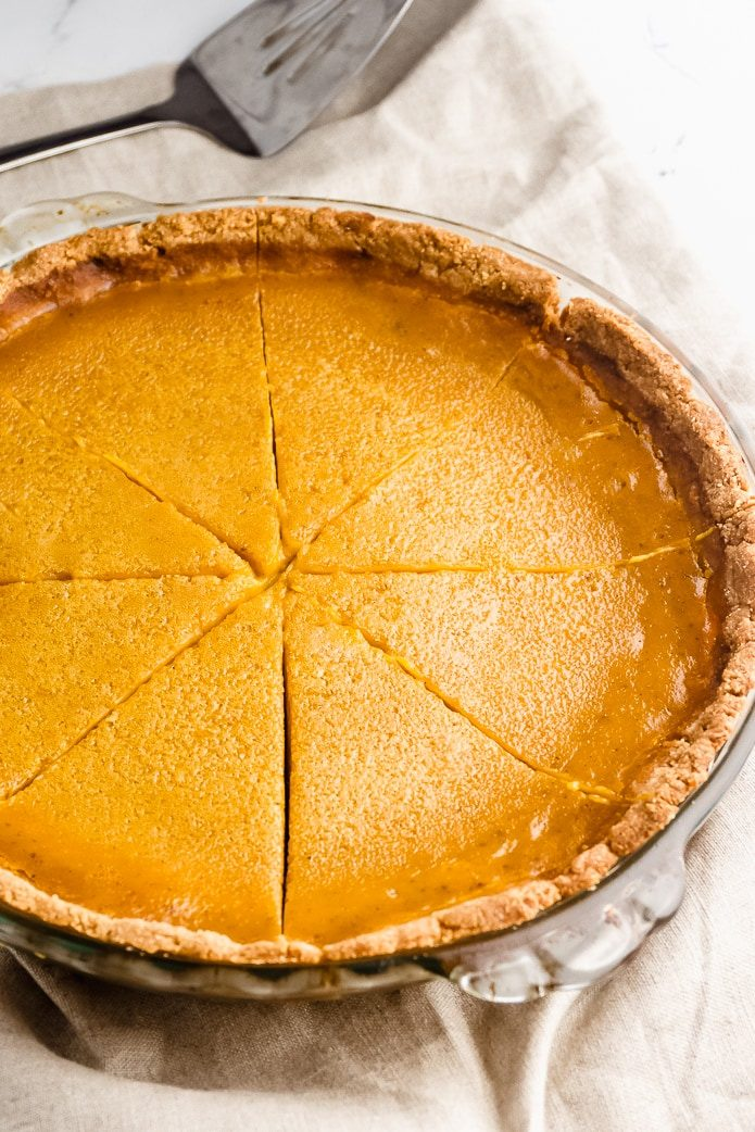 Healthy halloween treats sugar free pumpkin pie