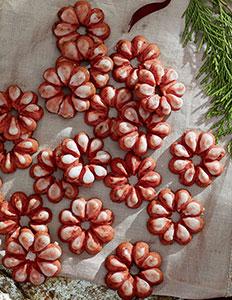 Icedcranberryspritzcookies