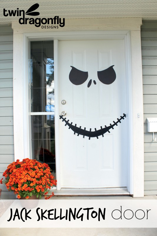 Jack skellington door