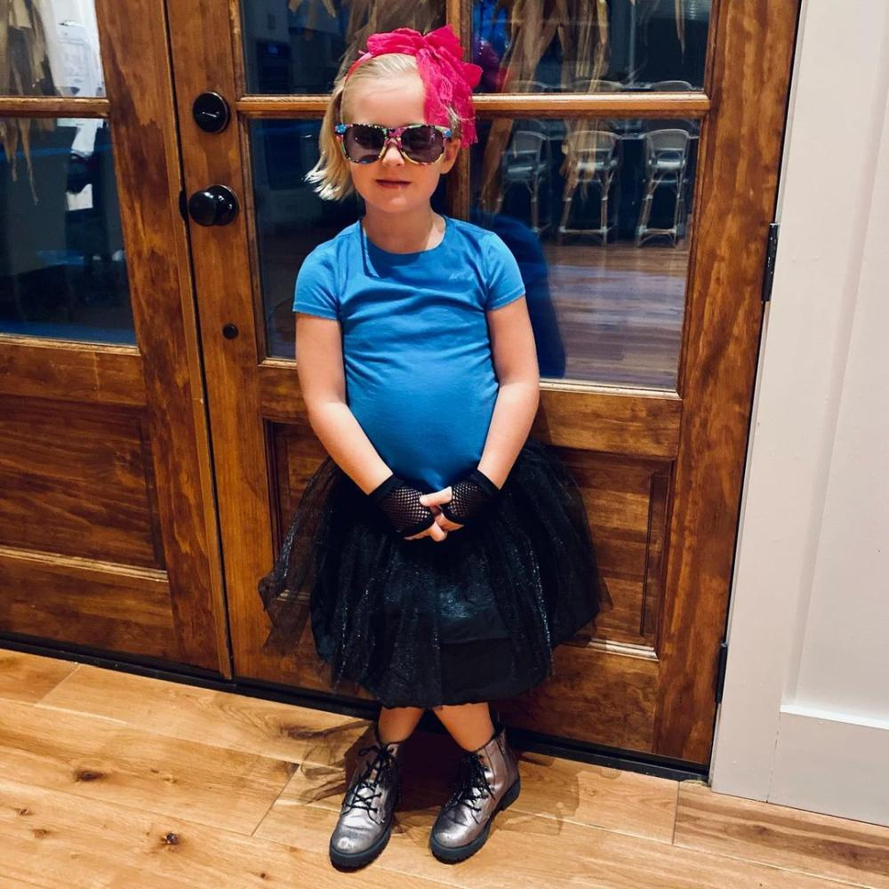 Kids 80s outfit