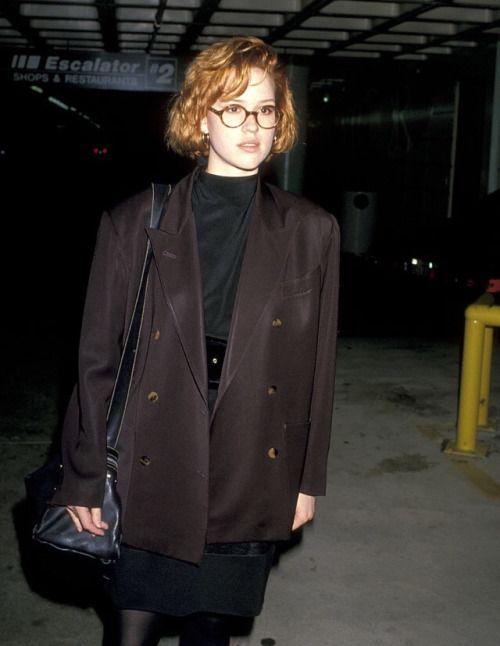 Molly ringwald 1980's fashion idea