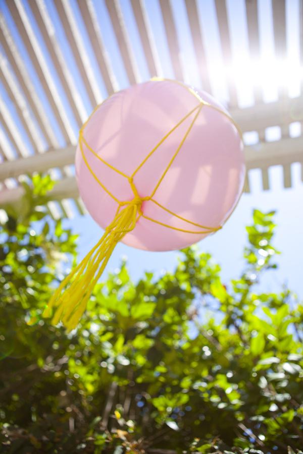 Macrame balloons