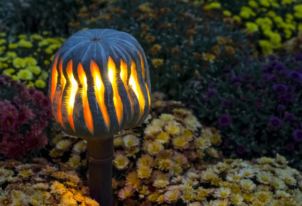 Magic lantern simple pumpkin carving