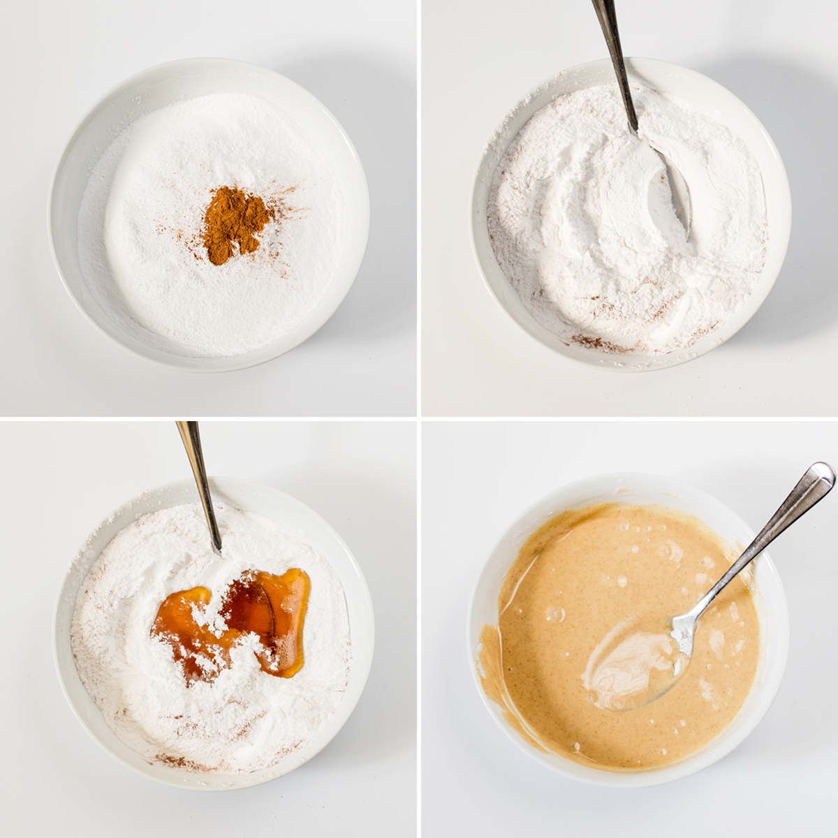 Maple glaze donuts step 3 collage