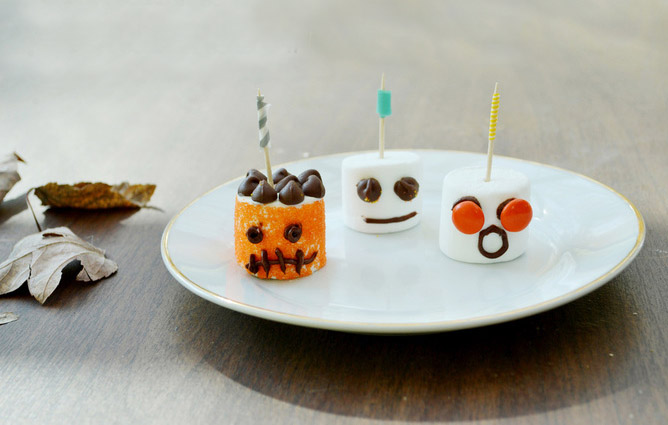 Marshmallow monsters for halloween recipe