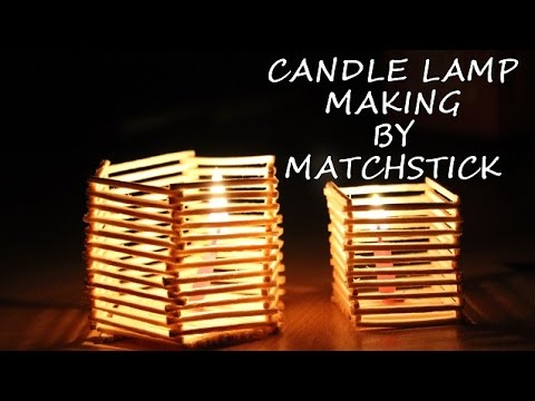 15 Diy Projects Made From Matchsticks
