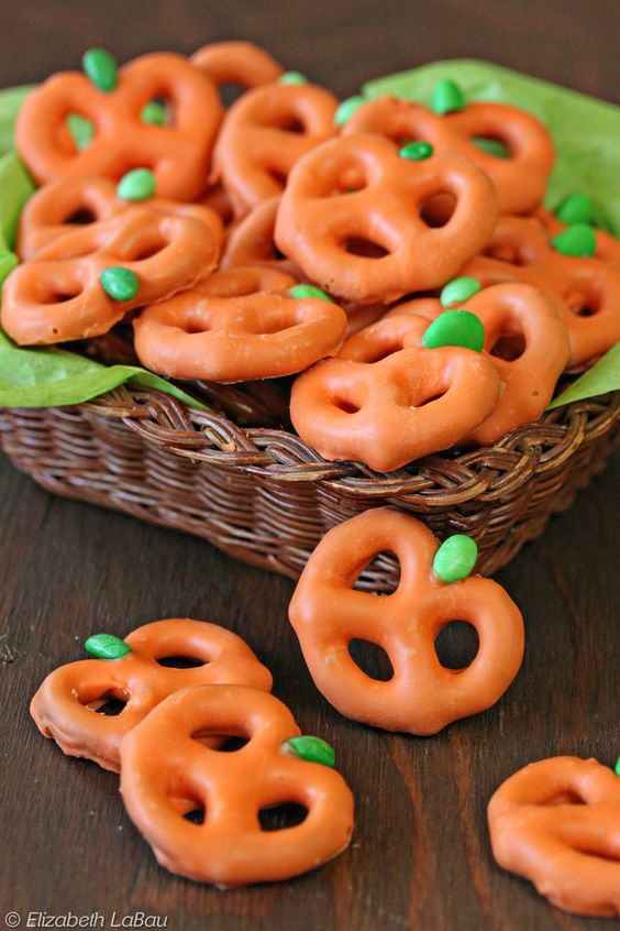 Pretzel pumpkin recipe