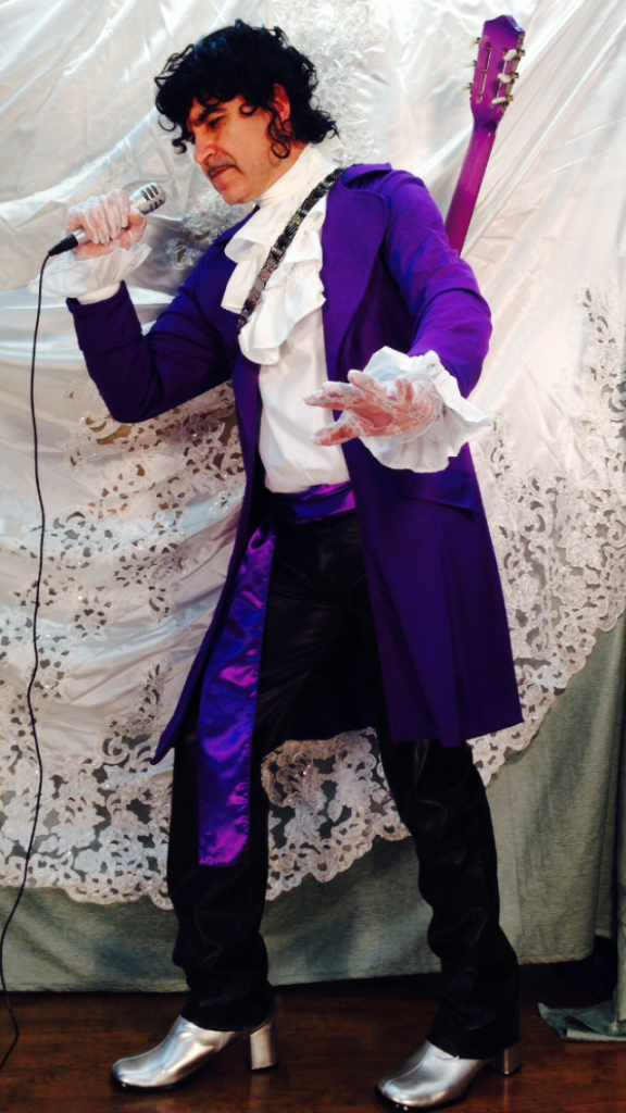 Prince inspired costume  sc 1 st  DIYS.com & 80u0027s Outfits To Wear To Theme Parties Or Halloween Night!