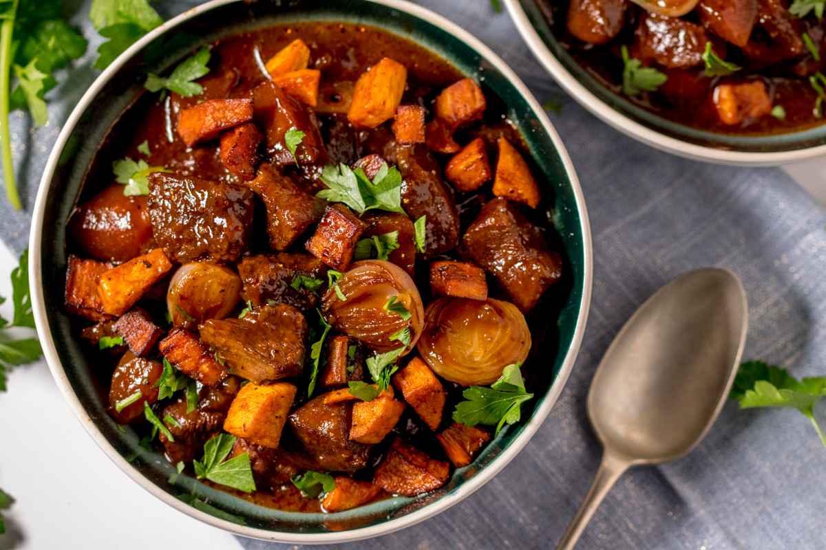 slow-cooked beef stew recipe
