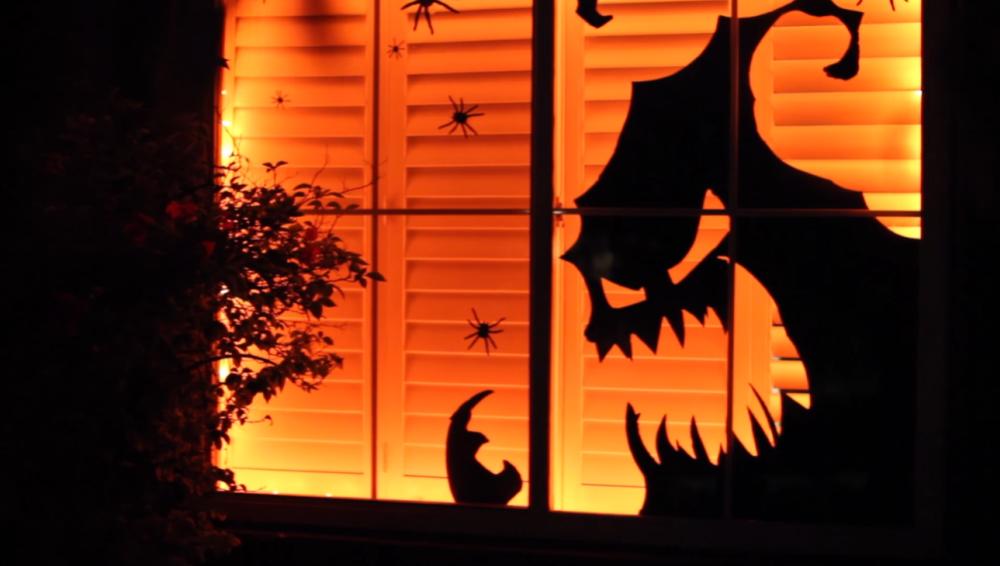 Halloween Door Spooky Decal