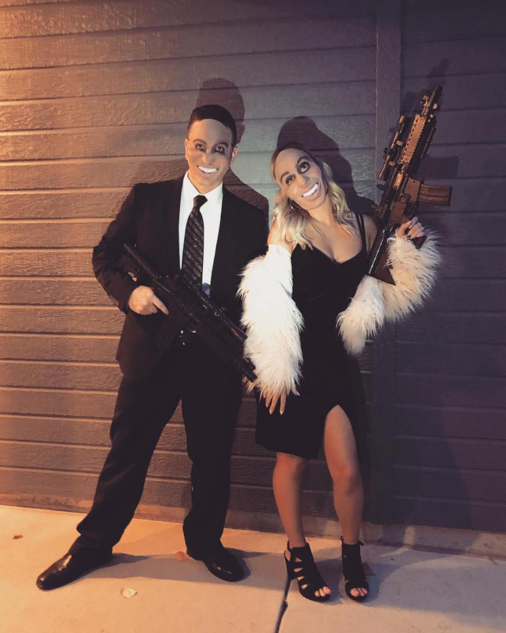 The purge couples halloween costumes