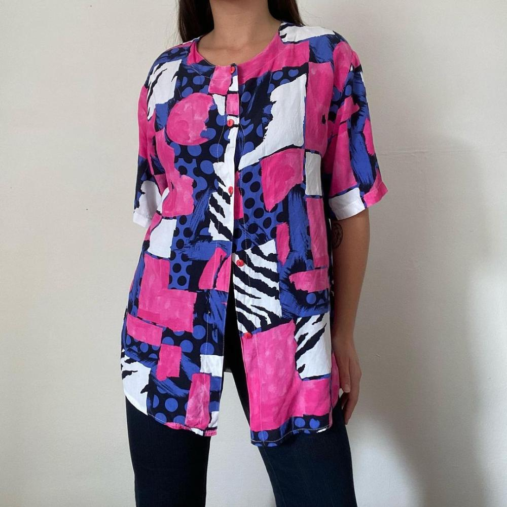 Vintage shirt 80s outfits