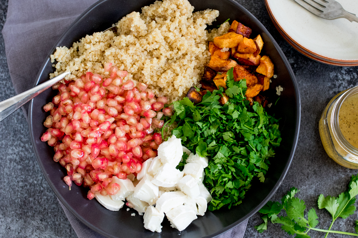This Warm Quinoa Salad is comfort food that's good for you!