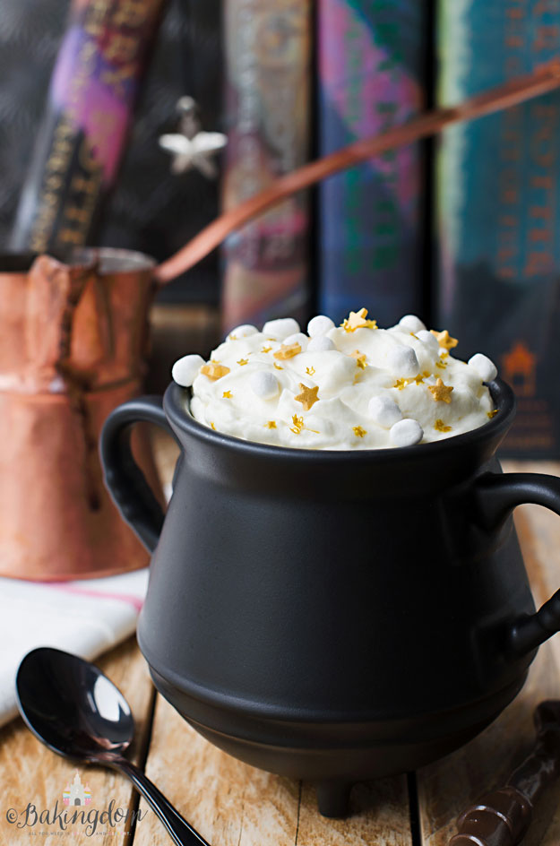 Butterbeer hot chocolate recipe harry potter