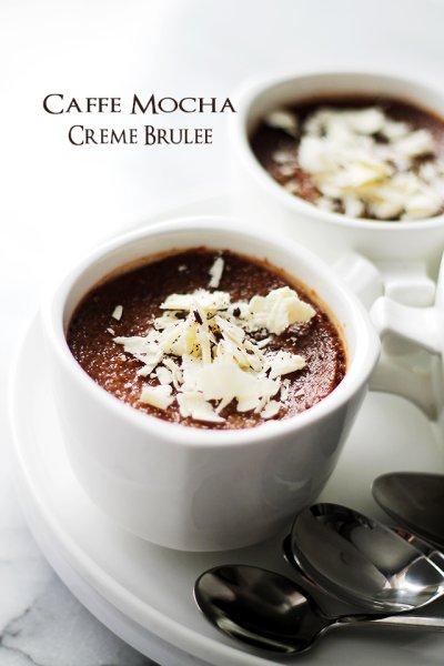 Cafe mocha creme brulee