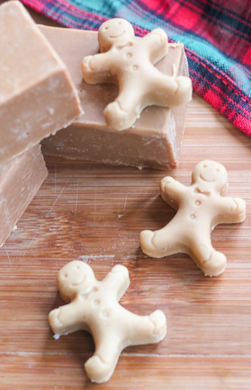 Diy gingerbread soap