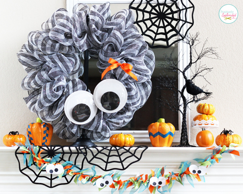 Diy googly eyes wreath
