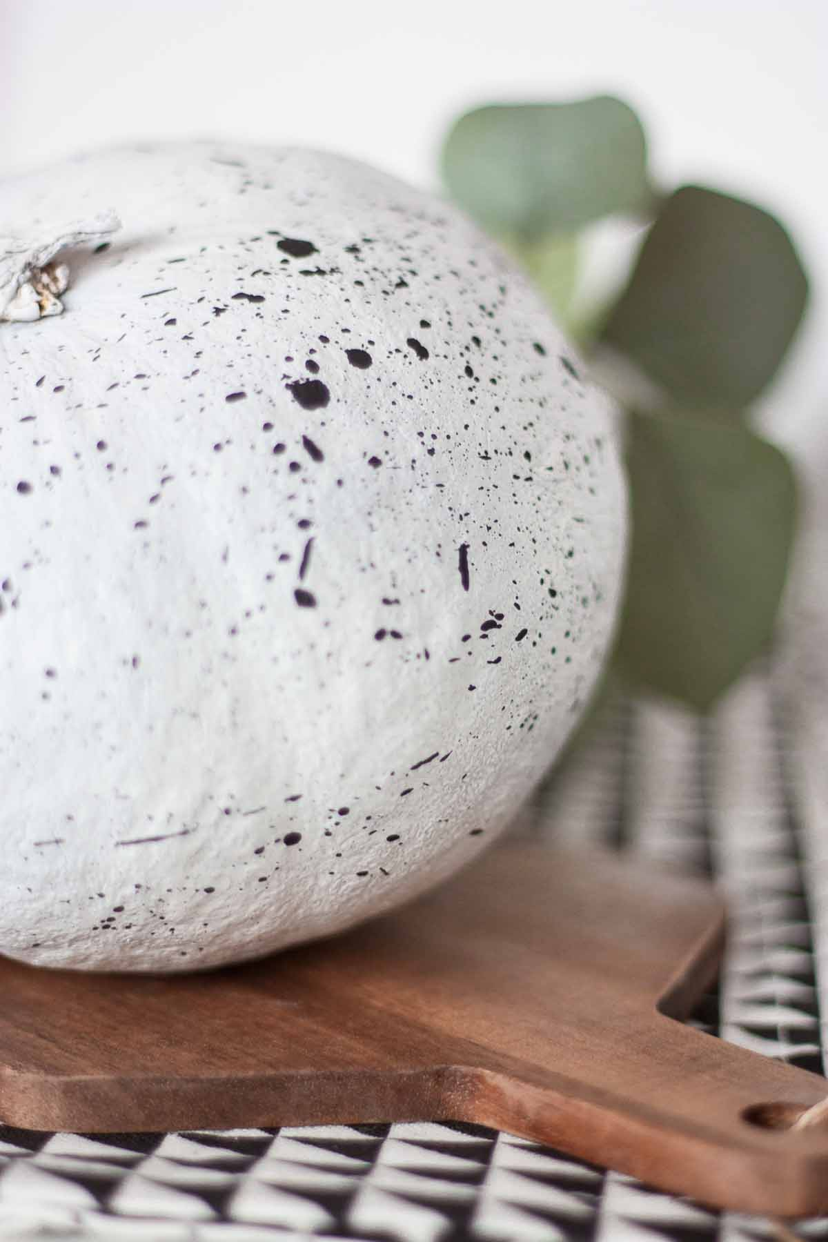 Diy pumpkin splatter home decor 12