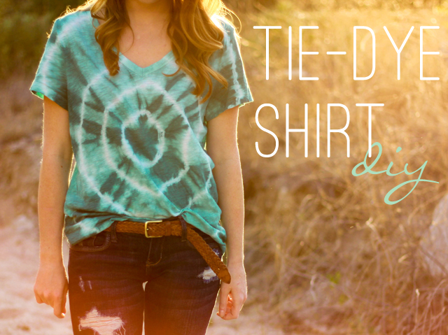 Diy tie dye t shirt
