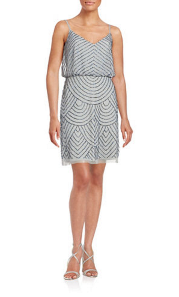 Lord and taylor green cocktail dress