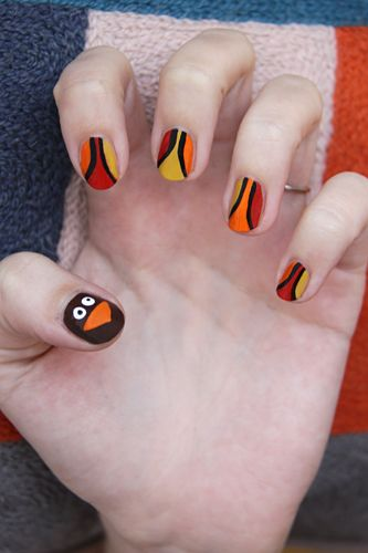 25 thanksgiving nail art ideas graphic thanksgiving nail art solutioingenieria Images