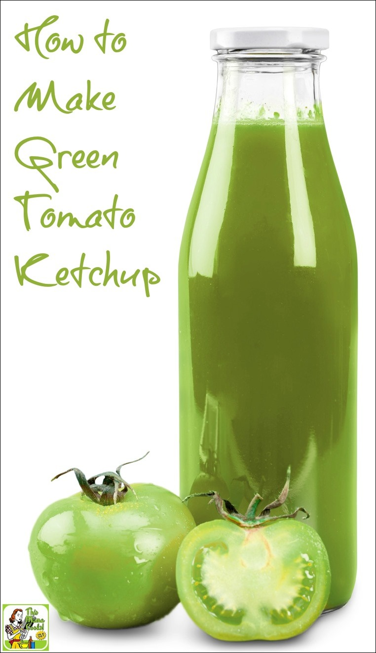 Green tomato ketchup recipe