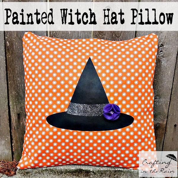 Halloween Witch Home Decor Pillows
