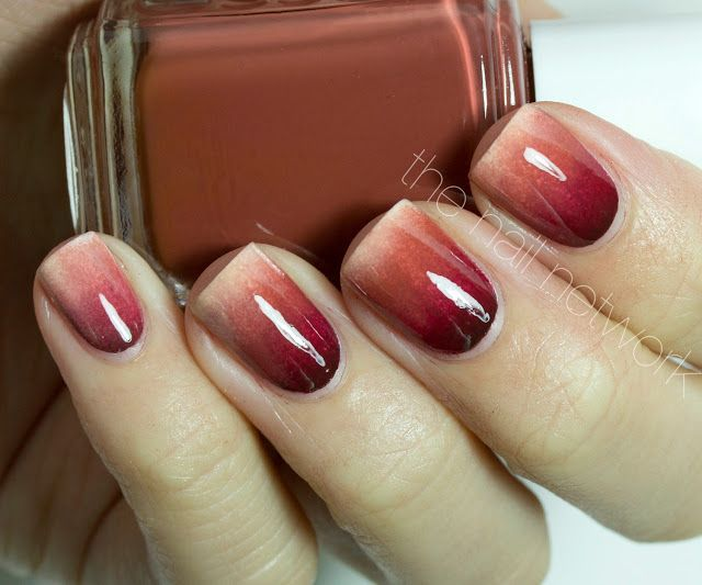 25 thanksgiving nail art ideas ombre gradient thanksgiving nails solutioingenieria Images
