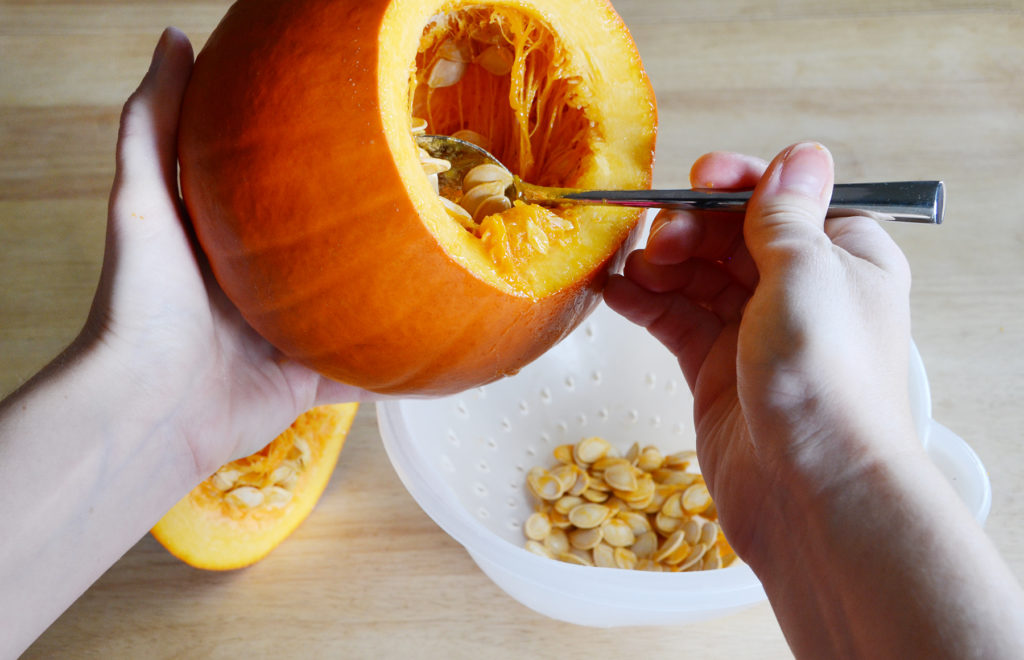 Pumpkin granola recipe step 2