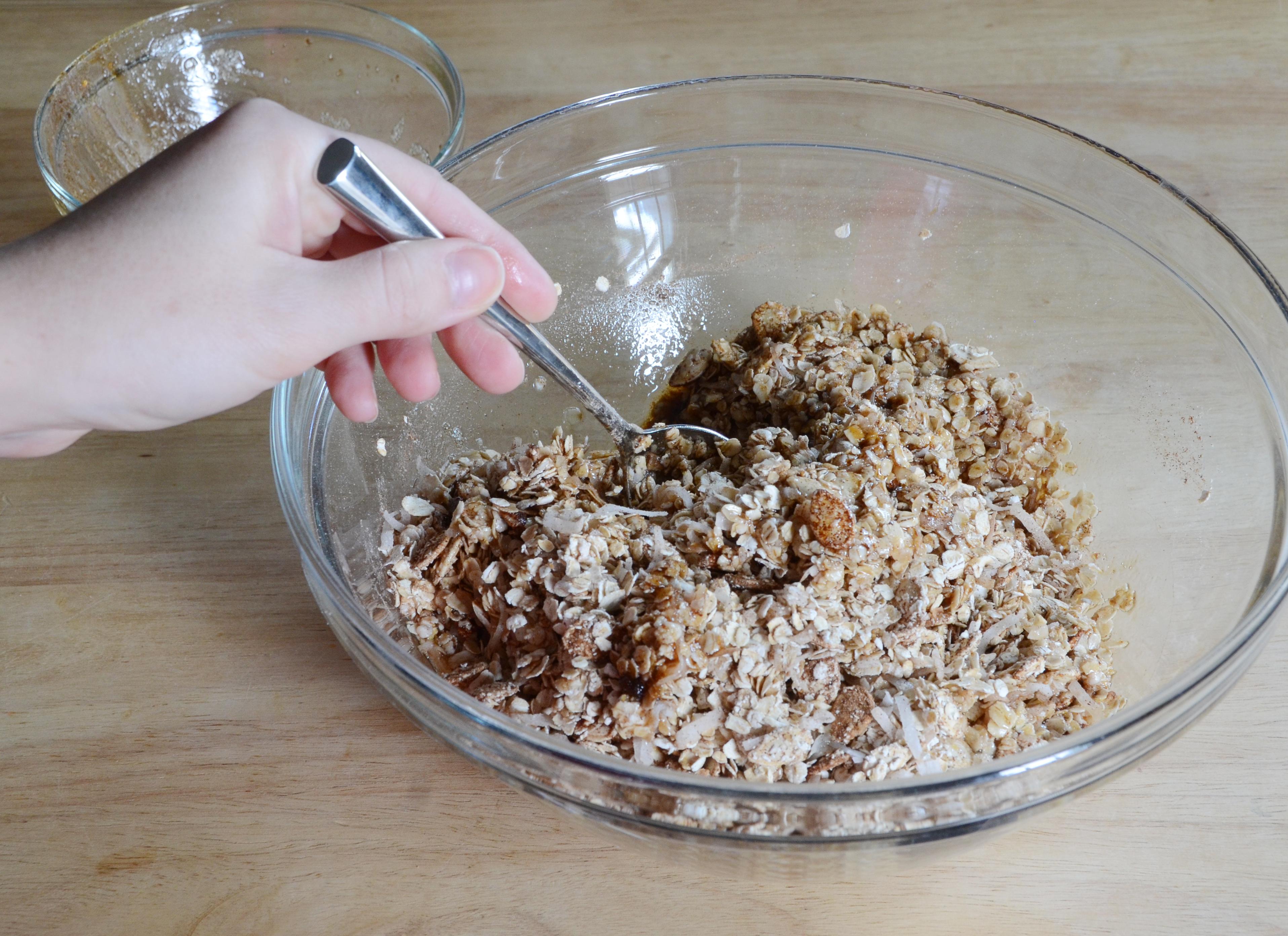 Pumpkin granola recipe step 6