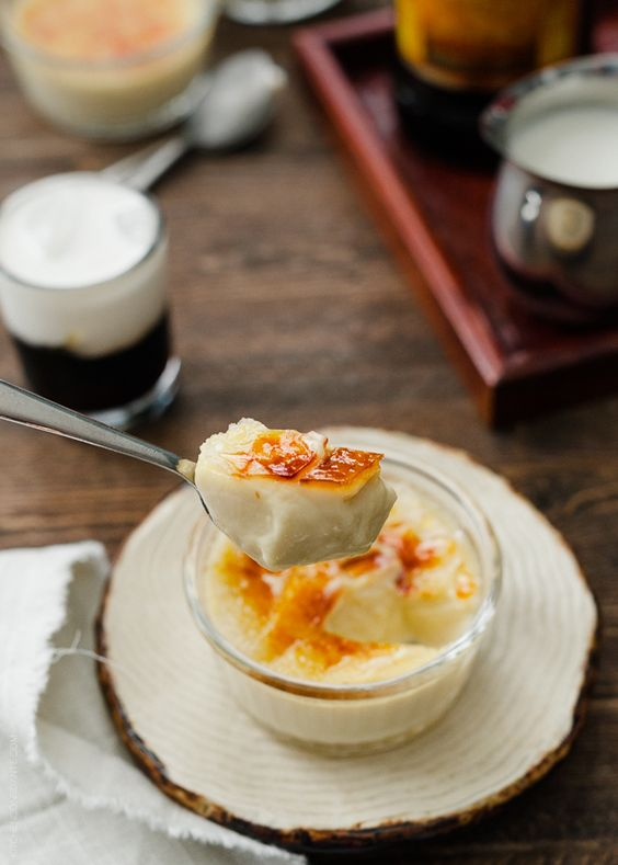 White russian creme brulee