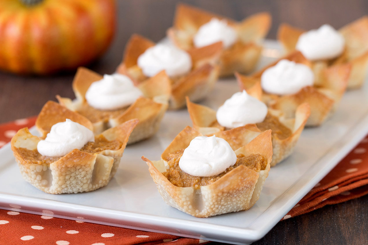 Worlds cutest mini pumpkin pies