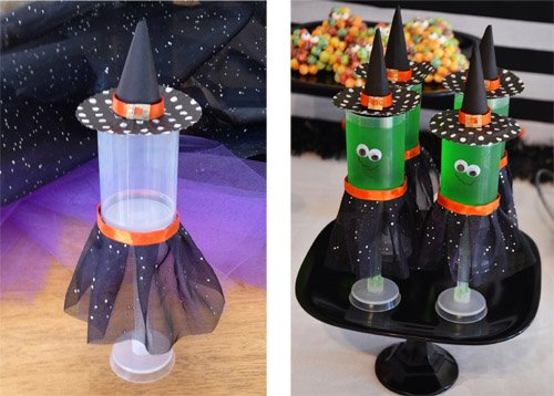 Halloween Witch Push Pops