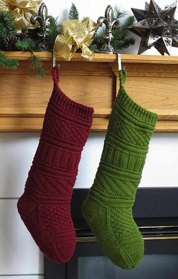 15 Amazing Knitted Christmas Stockings