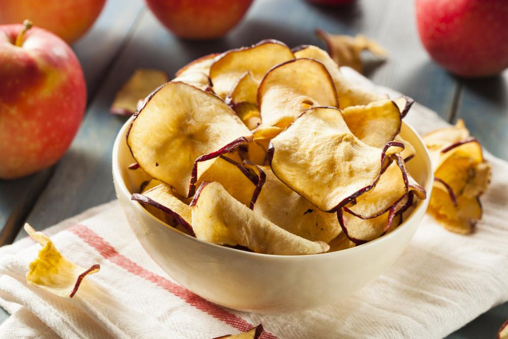 Apple chips best thanksgiving appetizers