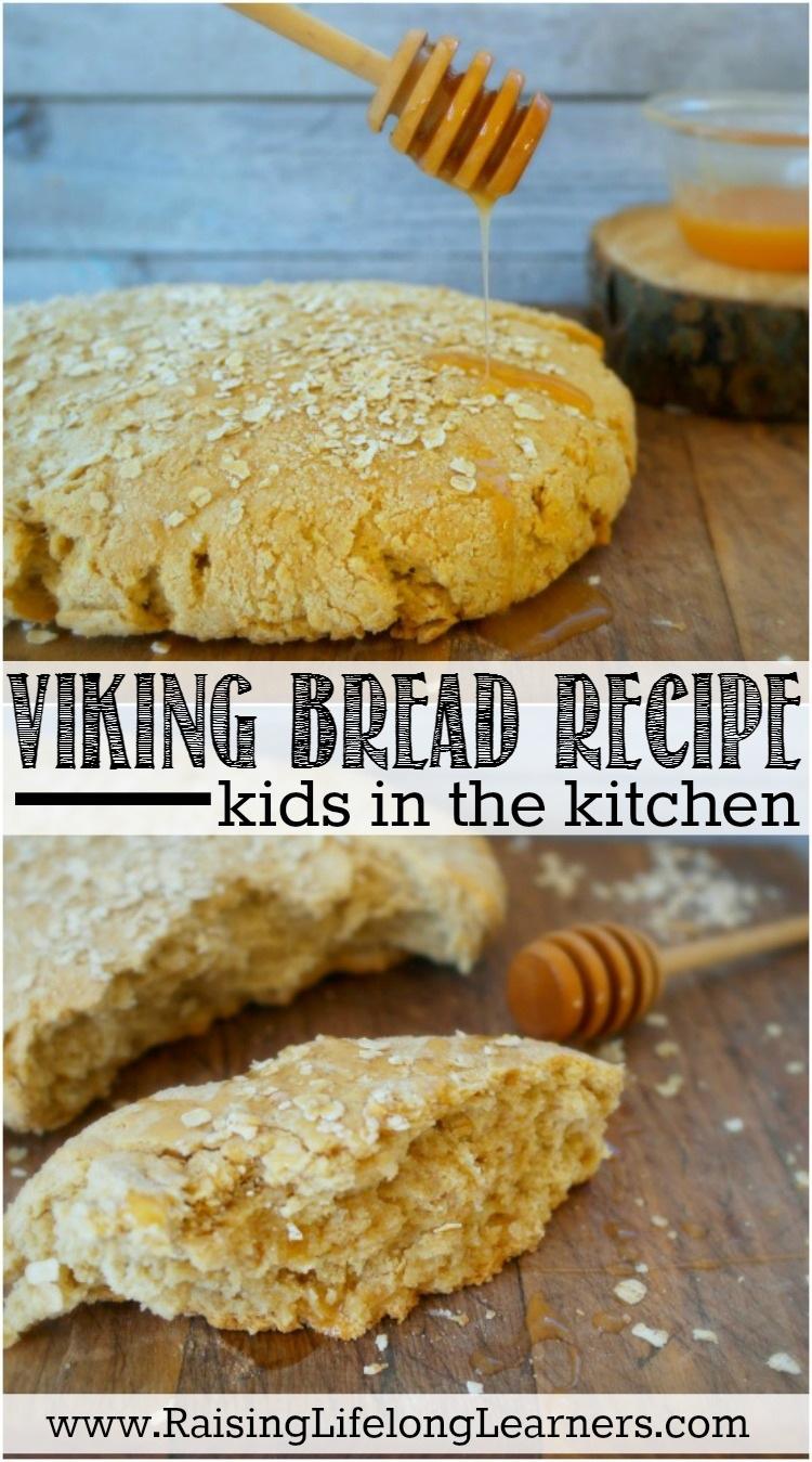 Authentic viking bread recipe