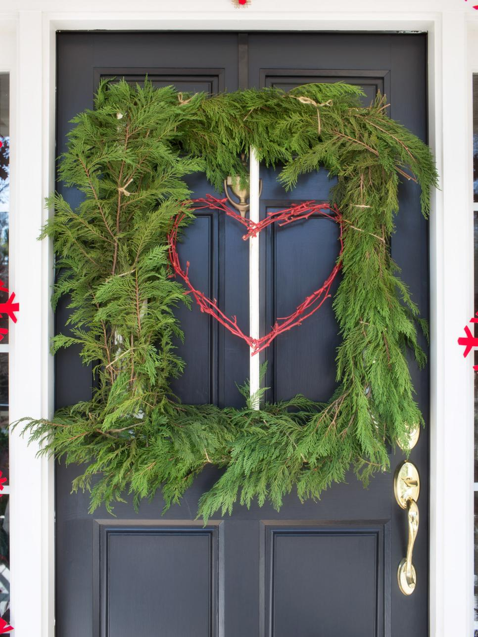 bpf holiday house exterior natural porch decorating square tree wreath v jpg rend hgtvcom 966 1288