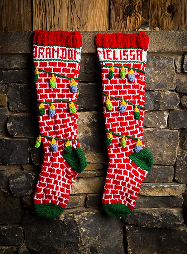 Christmas vacation stocking