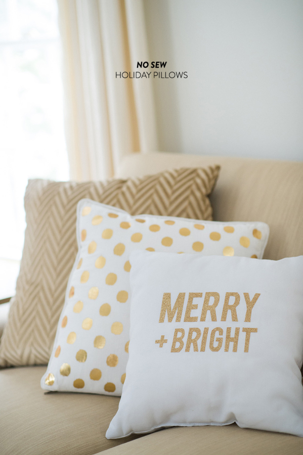 Diy holiday throw pillows