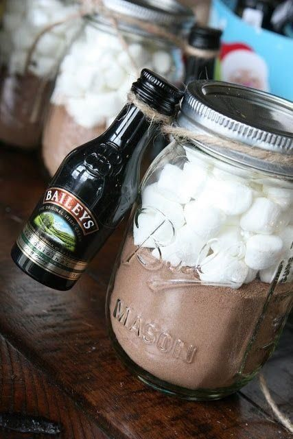 Diy hot chocolate baileys