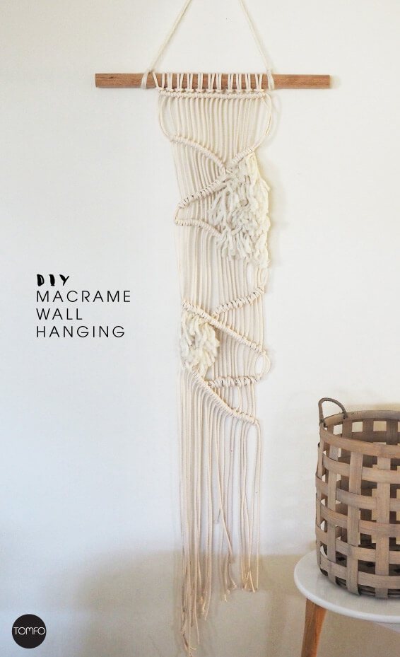 Diy macrame hanging full length tomfof