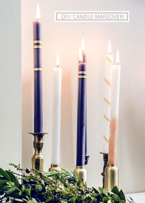 Diy candlesticks